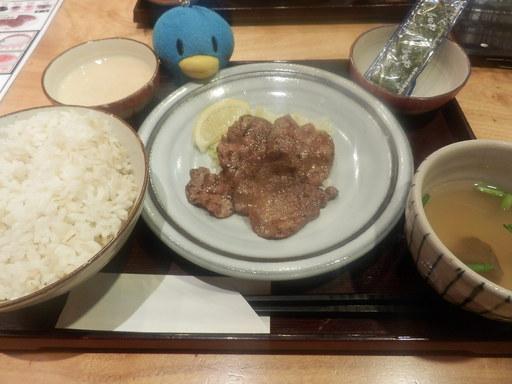 牛タン朝食