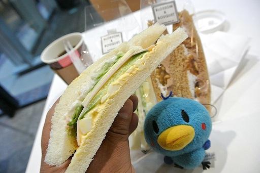 スペシャルサンドイッチとくるみショコラ