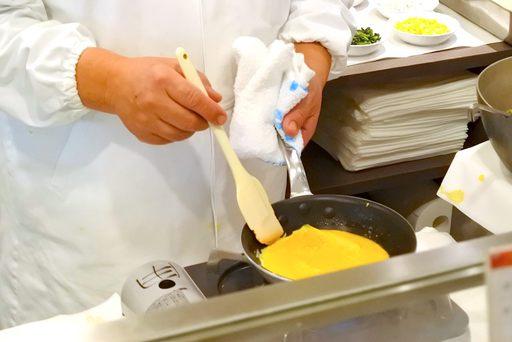 手作りオムレツ