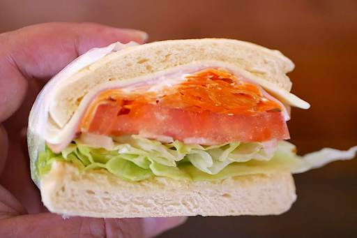 ベジハムチーズサンド