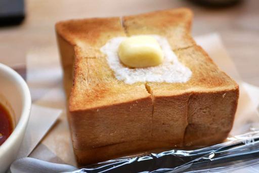 厚切り黒糖トースト